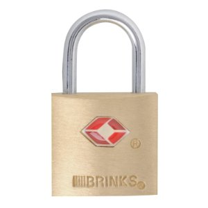 Brinks Solid Brass Luggage Lock