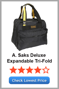 A. Saks Deluxe Expandable Tri -Fold
