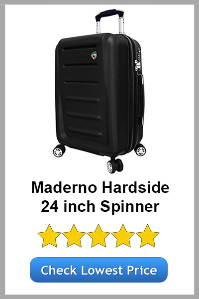 MIA TORO MODERNO HARDSIDE 24IN SPINNER