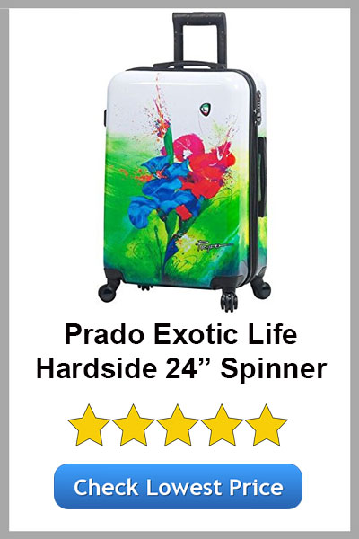 MIA TORO PRADO EXOTIC LIFE HARDSIDE 24IN SPINNER