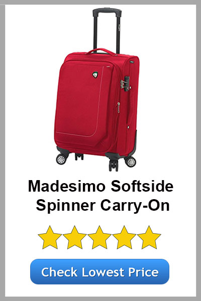 Mia Toro Madesimo Softside Spinner Carry-On