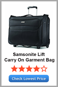 Samsonite Lift Carry On Wheeled Garment Bag