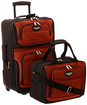 Review of Travel Select Amsterdam Two Piece Carry-On Luggage Set