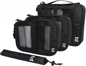 Zero Grid Packing Cubes Travel Organizer