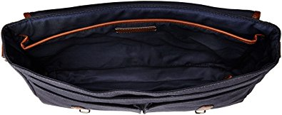 Fossil Graham East West Fabric Navy Messenger Bag 2