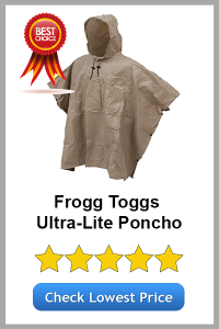 Frogg Toggs Ultra-Lite Poncho