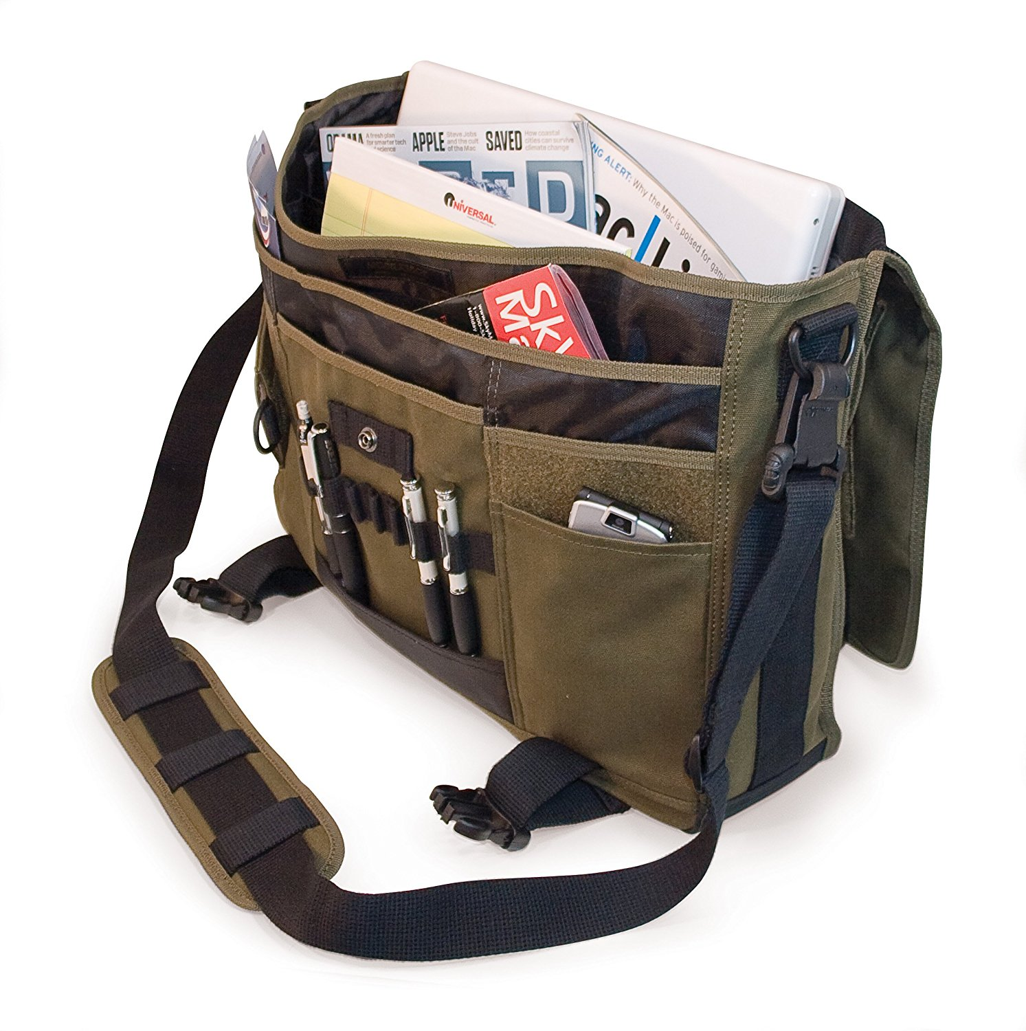 Mobile Edge eco-friendly laptop messenger bag