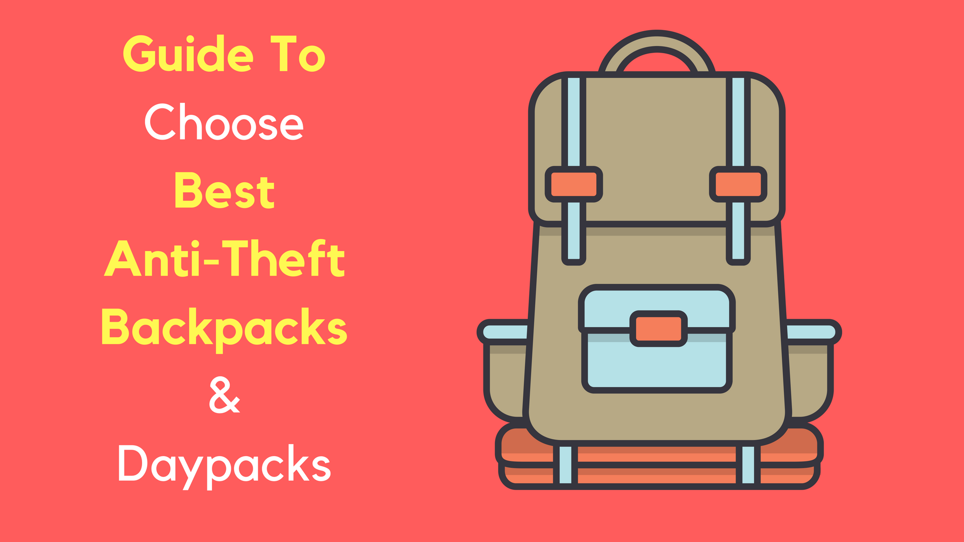 best anti-theft backpacks