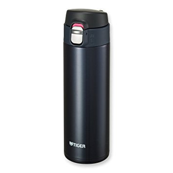 Tiger MMJ-A048 PA Vacuum Insulated Stainless Steel Travel Mug with Flip Open Lid