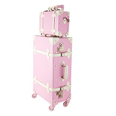CO-Z Premium Vintage Luggage